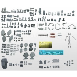 All parts of the kit