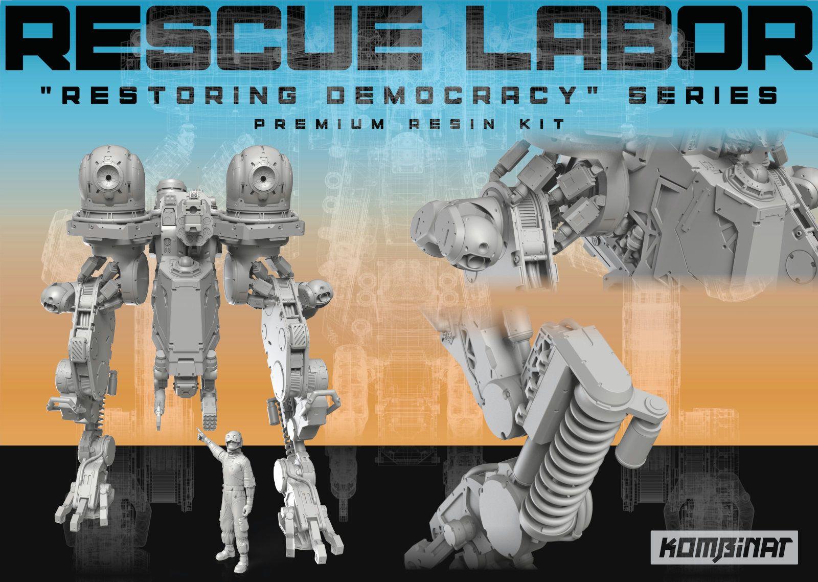 Rescue Labor Mech kit advertisement